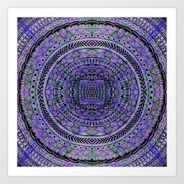 Zentangle Mandala Art Print