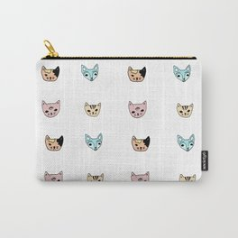 cat pattern 2 Carry-All Pouch