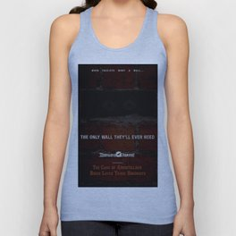 Nevermore Builders: Cask of Amontillado Trump-Wall Advert Unisex Tank Top
