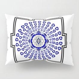 108 Evil Eye Sri Yantra Pillow Sham