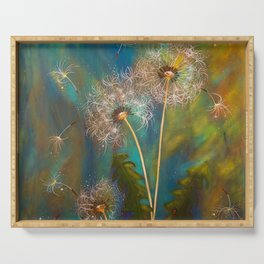 Dandelion Wishes Serving Tray