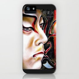 Kabuki No. Three iPhone Case