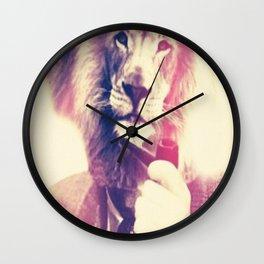 Lionman Wall Clock
