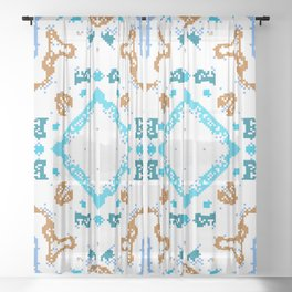 """CA Fantasy """"For Child"""" series #4 Sheer Curtain"""