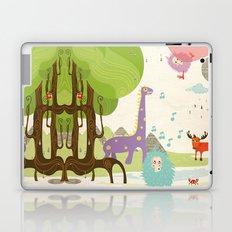 Crazy Animals Laptop & iPad Skin