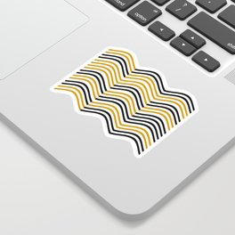 Abstract Shapes Pattern Sticker