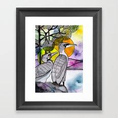 Cormorants Framed Art Print