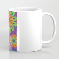 Psychoflower Purple Mug