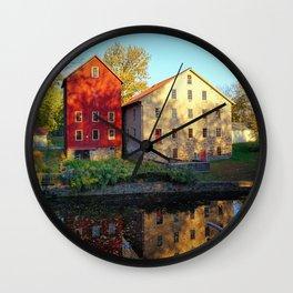 The Prallsville Mills Wall Clock