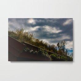 My Garden My Roof Metal Print