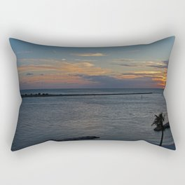 The Journey Ends Rectangular Pillow
