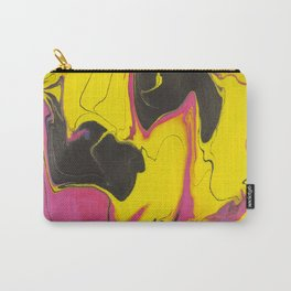 Sweetness 0019- Iridescent Fluid Painting Carry-All Pouch
