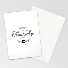 My Old Kentucky Home (Southern Home State Series) Stationery Cards