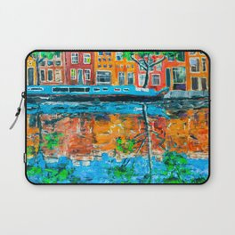 Reflections of Amsterdam Laptop Sleeve