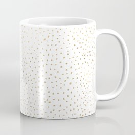 Dotted Gold Coffee Mug