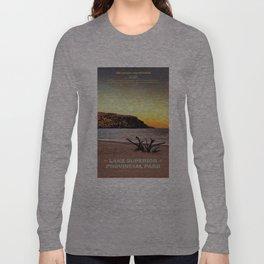 Lake Superior Provincial Park Long Sleeve T-shirt