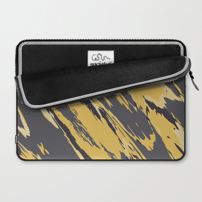 Golden grey Laptop Sleeve