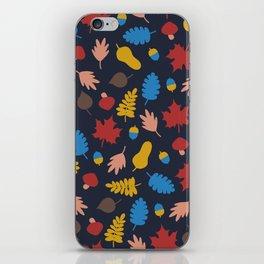 Autumn story iPhone Skin
