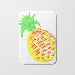 Pineapple in Pen Bath Mat