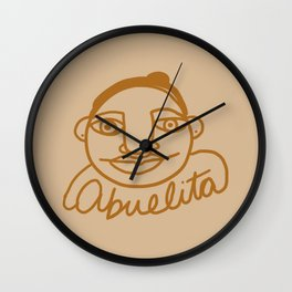 Abuelita Wall Clock