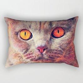 cat Gina #cat #cats #animals Rectangular Pillow