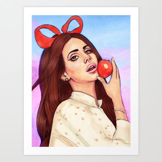 Lana Numero Tokyo Art Print