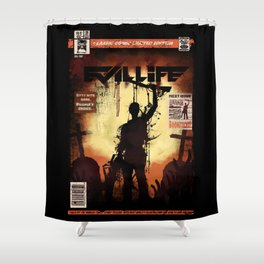 Evil Life Shower Curtain