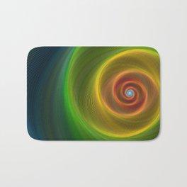 Space dream spiral Bath Mat
