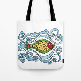 Buster the Sea Bass Tote Bag