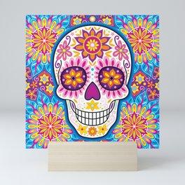 Sugar Skull Art (Inflorescent) Mini Art Print