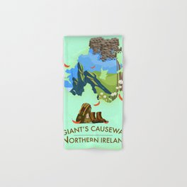Giant's Causeway, northern ireland Hand & Bath Towel