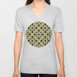 seamless pattern in eastern style Unisex V-Neck