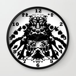 Moustached Knight Wall Clock
