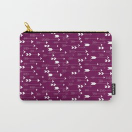 Shot Through the Heart in Pink Carry-All Pouch