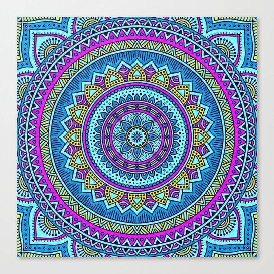 Hippie Mandala 20 Canvas Print