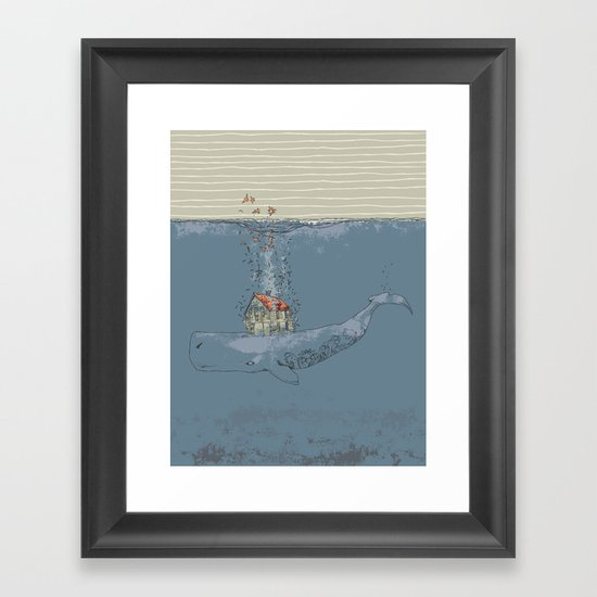 Ocean Home Framed Art Print