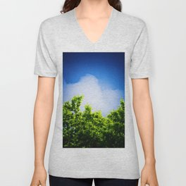 Storm Clouds Looming Unisex V-Neck