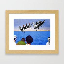 Sea, Sea. Framed Art Print