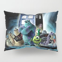 Tardis of monster inc Pillow Sham