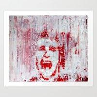 american psycho Art Prints featuring AMERICAN PSYCHO by John McGlynn