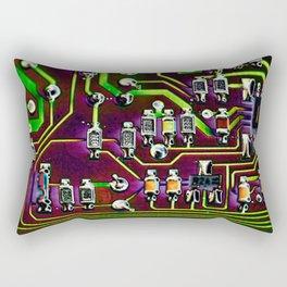Short Circuit 2 Rectangular Pillow