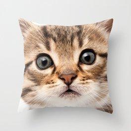 Just a Cat Throw Pillow