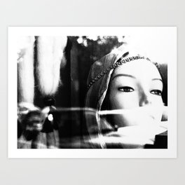 Gorgeous is She  Art Print
