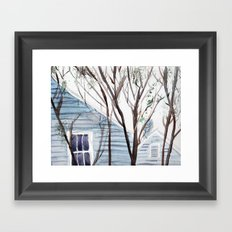Better Days Framed Art Print