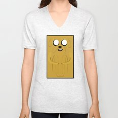 ADVENTURE TIME: JAKE Unisex V-Neck
