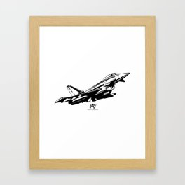Higher Faster Further Framed Art Print