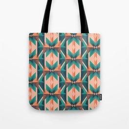 Low Poly Desert Bloom Tote Bag