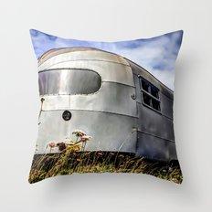 Airstream Throw Pillow