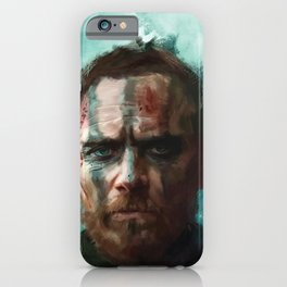 Macbeth - Michael Fassbender iPhone Case