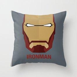 IRONMAN Throw Pillow